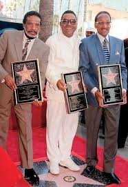 The Four Tops 1997 Walk Of Fame Induction Ceremony