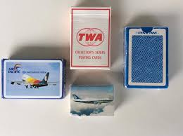 Vintage Airline Playing Cards