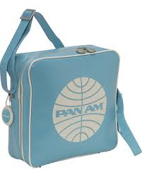 Vintage Pan Am Travel Bag