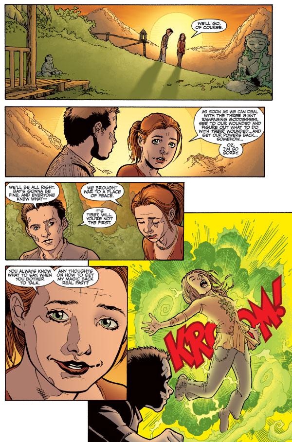 Willow and Oz Comics