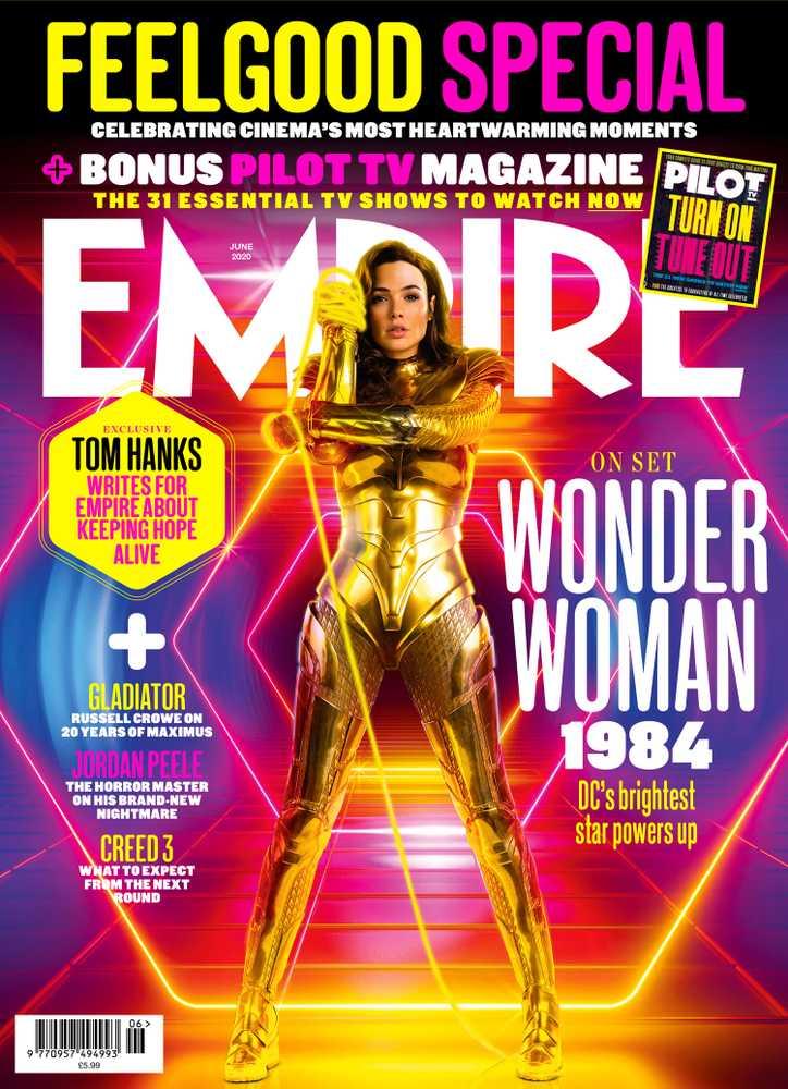 Wonder Woman 1984 - Empire Magazine Cover - June 2020