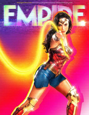 Wonder Woman 1984 - Empire Magazine Cover - June 2020