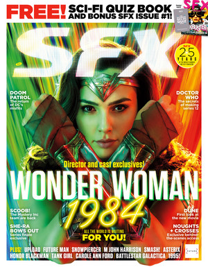 Wonder Woman 1984 - cover of SFX Magazine (May 2020)