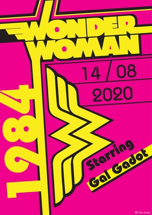 Wonder Women 1984 Bauhaus poster