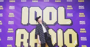 Youngjae  at idol radio