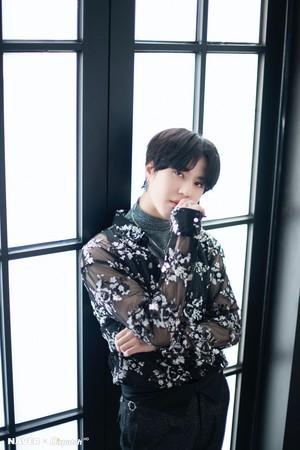 "Yugyeom ""DYE"" mini album promotion photoshoot by Naver x Dispatch"