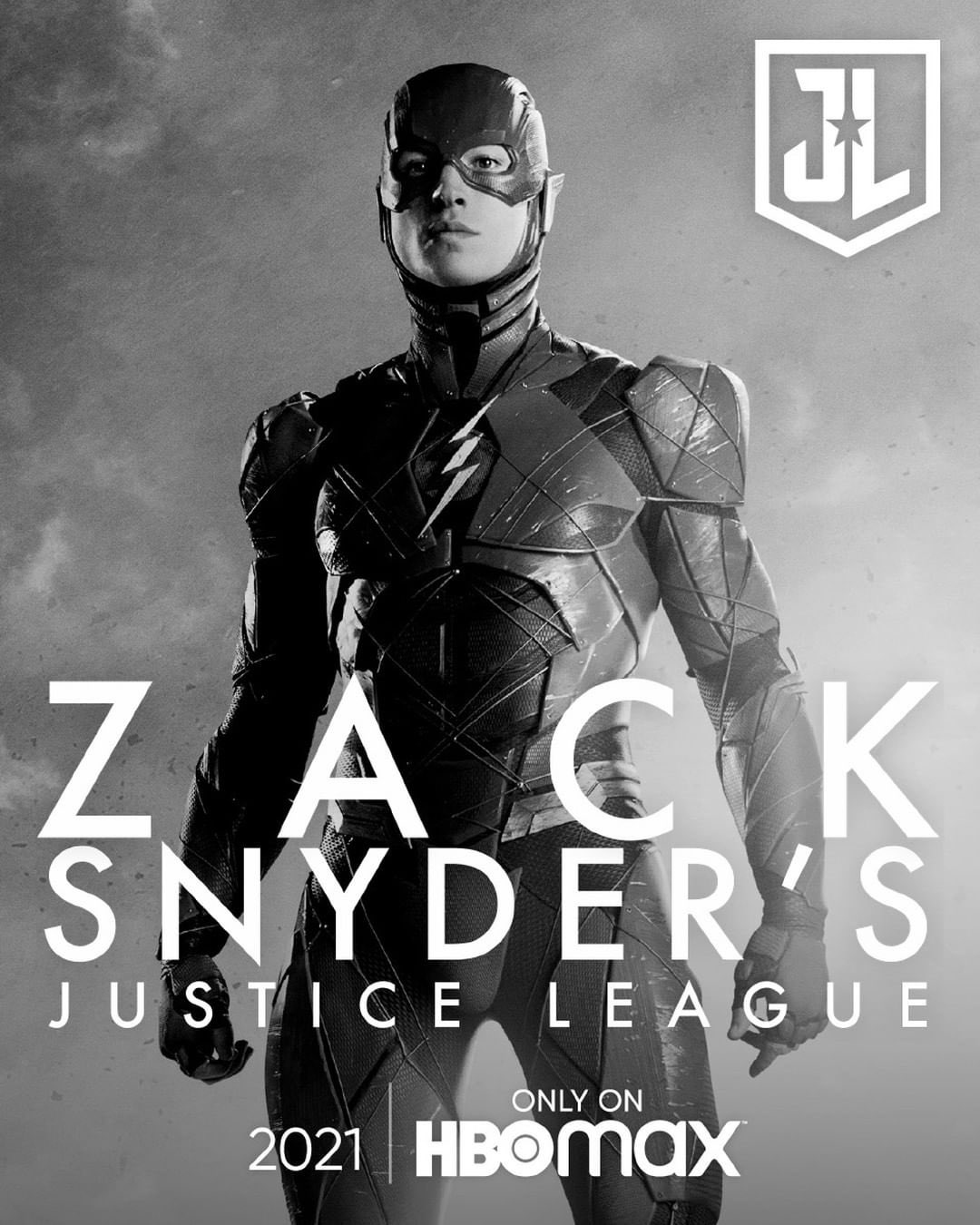 Zack Snyder's Justice League Poster - Ezra Miller as The Flash