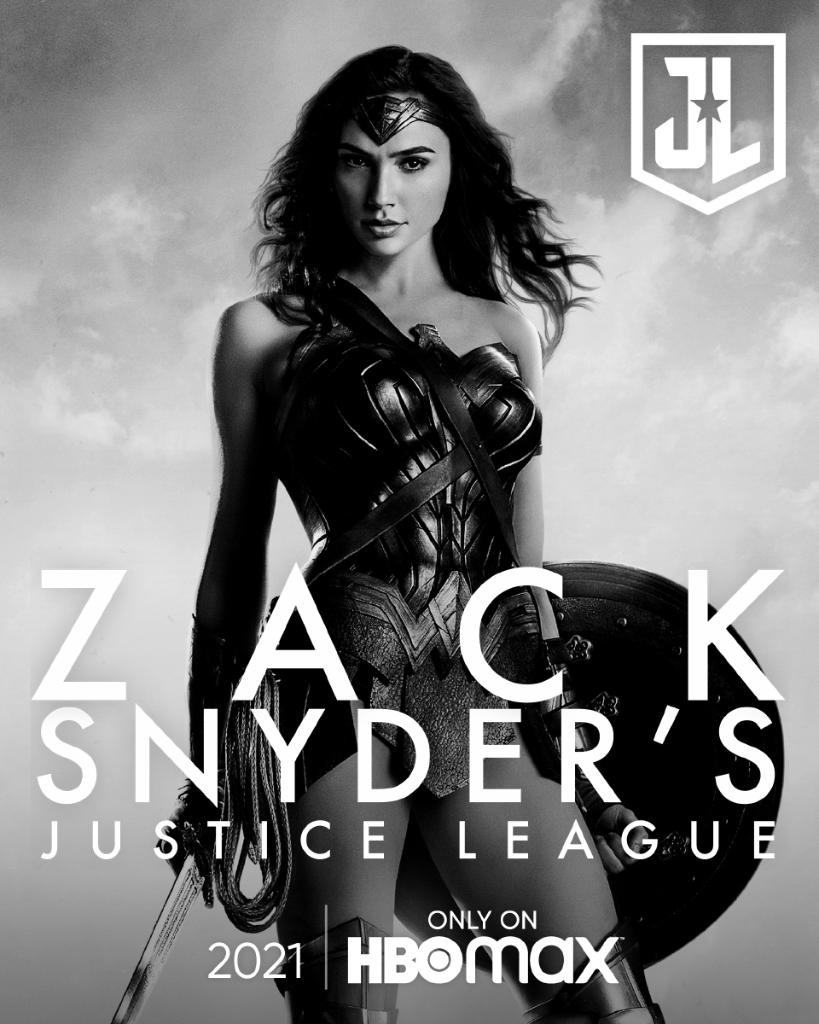 Zack Snyder's Justice League Poster - Gal Gadot as Wonder Woman