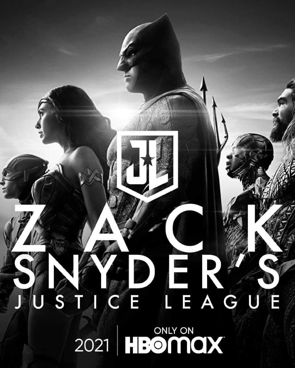 Zack Snyder's Justice League Poster - The League