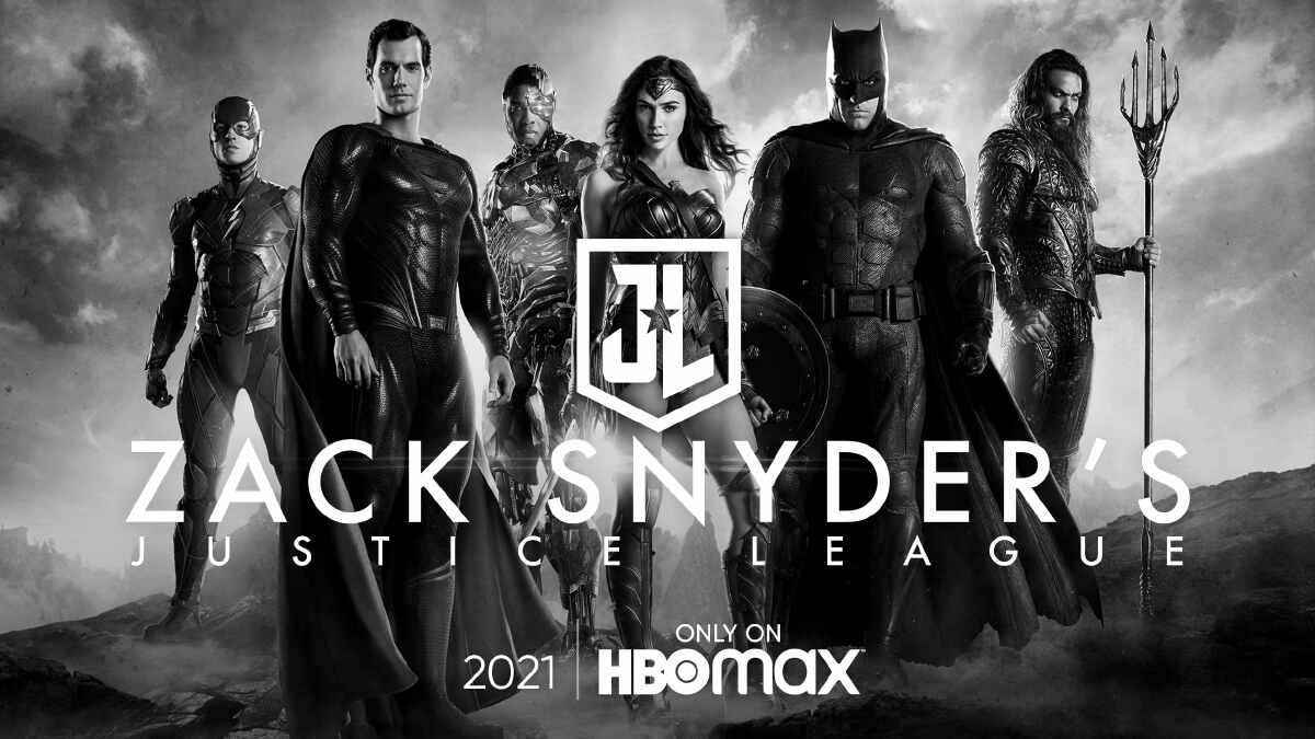 Zack Snyder's Justice League (2021) Poster