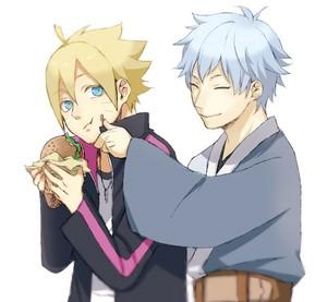 boruto and mitsuki