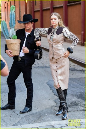 gigi hadid goes country for western inspired ছবি shoot in nyc 05