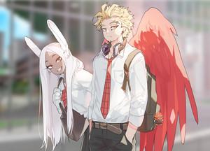 hawks and mirko
