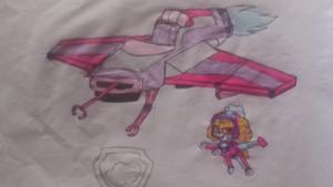 paw patrol skye jet