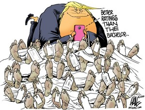 Trump Political Cartoon