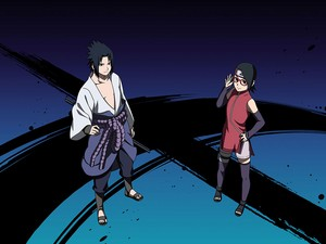 sarada and sasuke