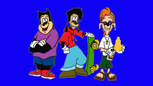 (A Goofy Movie) Max, PJ and Bobby