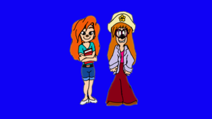 (A Goofy Movie) Roxanne and Stacy (Stacey)