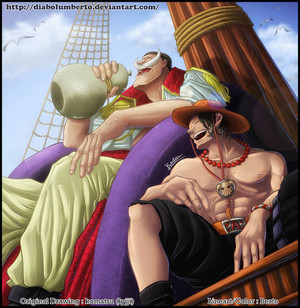 *Ace / Whitebeard*