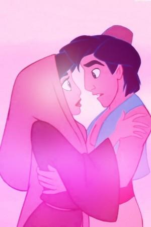 Walt Disney Images - Princess Jasmine & Prince Aladdin