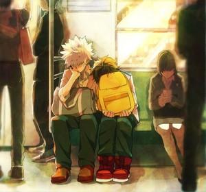 *Bakugo / Midoriya : My Hero Academia*