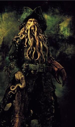 *Davy Jones :Pirates Of The Caribbean*