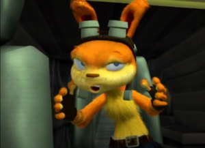 ! Daxter lost Frontier