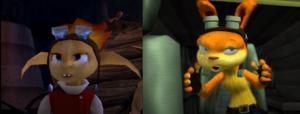 ! Daxter (Precursor Legacy) vs Lost Frontier