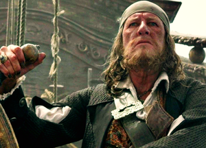 *Hector Barbossa : Pirates of the Caribbean*