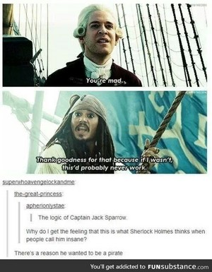 *Jack Sparrow / Beckett :Pirates Of The Caribbean*