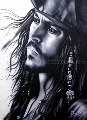 Walt Disney Fan Art - Captain Jack Sparrow