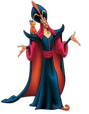 Walt Disney Images - Iago & Jafar