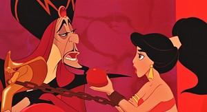 Walt Disney Screencaps - Jafar & Princess Jasmine