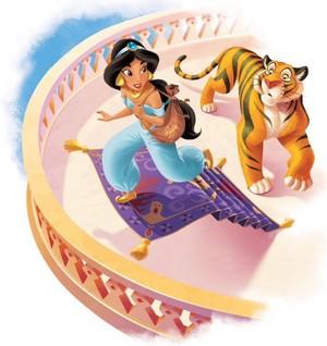 *Jasmine / Rajah : Aladdin*