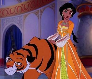 Walt disney fan Art - Rajah & Princess melati