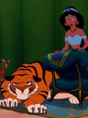 Walt disney Screencaps - Rajah & Princess melati