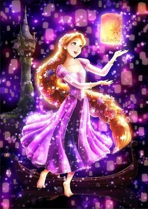 Walt Дисней Фан Art - Princess Rapunzel