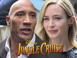 *The Rock / Emily Blunt: Disney's 'Jungle Cruise*