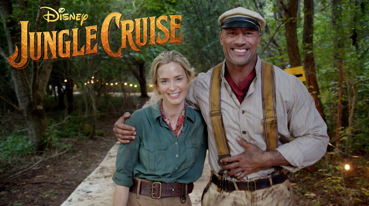 *The Rock / Emily Blunt: Disney's 'Jungle Cruise*