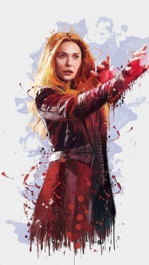 *Wanda Maximoff/Scarlet Witch*