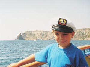 Никита (Xlson137) Третяк в детстве в Крыму