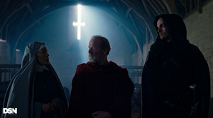 1x03 - Alone - Abbess Nora, Father Carden and The Weeping Monk