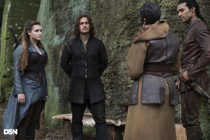 1x08 - The Fey Queen - Nimue, Gawain, Druna and Arthur