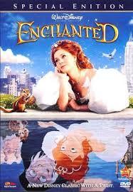 2017 Disney Cartoon, Enchanted, On DVD