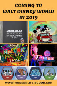 2019 Disney Tourist Attractions