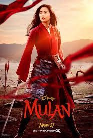 2020 Movie Poster 迪士尼 迪士尼 Film, 花木兰