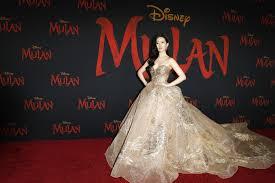 2020 Premiere Of Live Action Disney Film, Mulan