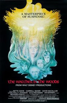 Movie Poster 1980 ディズニー Film, The Watcher In The Woods