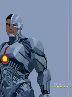 ALL IN. JUSTICE LEAGUE (Cyborg)