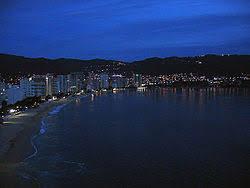 Acapulco At Night